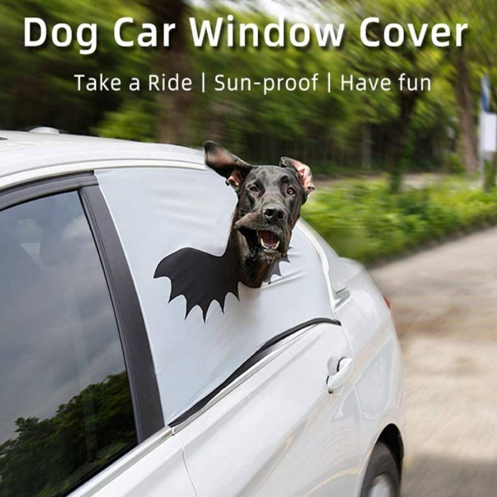 buy dog car window safety curtain
